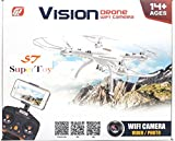 SuperToy(TM) New Drone 4CH 2.4G RC Live Video Real-time Streaming FPV WiFi Camera Quadcopter Helicopter Toy