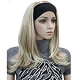 Lydell Long Straight Wave Headband Synthetic Wigs Blonde Highlighted Wigs (#L16/613)