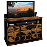 Product review for TV Lift Cabinet for 40-60 inch Flat Screens (Weathered Black) AT006380
