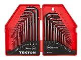 TEKTON Hex Key Wrench Set, 30Piece (.028-3/8 In.7-10 mm) | 25253
