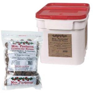 Mrs. Pastures Cookies for Horses - (15lb Bucket) 3