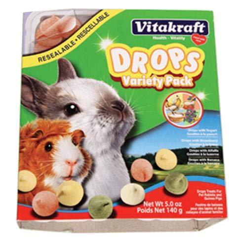 Vitakraft Drops Variety Pack Rabbit & Guinea Pig Treat 1