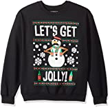 Product review for Hybrid Men's Let's Get Jolly Snowman Holiday Pullover
