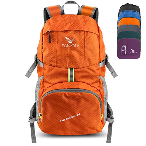 Pokarla 35L Foldable Durable Backpack