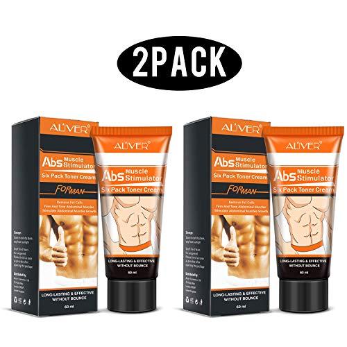 Hot Cream 2Pcs,Anti Cellulite Cream, Fat Burning Cream - Natural Body Slimming Cream for Abdominal, Arms and Thighs. 3