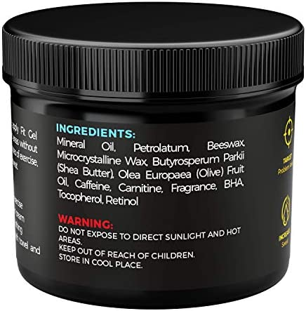 HONEYBULL Fit Gel Workout Enhancer to Sweat More at Gym & Cardio 8