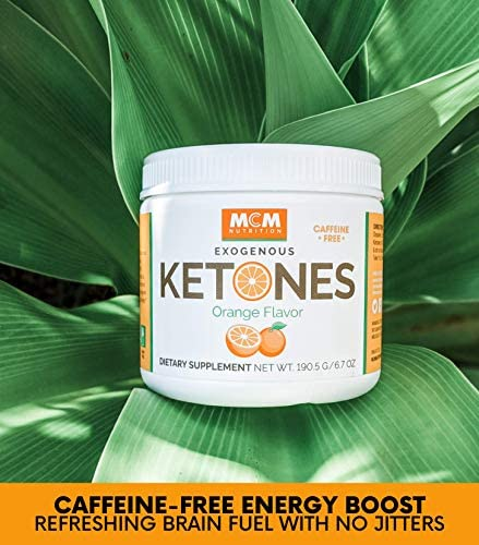 MCM Nutrition - Exogenous Ketones Supplement & BHB - Caffeine Free and Suppresses Appetite - Instant Keto Mix That Puts You into Ketosis Quick & Boosts The Keto Diet (Orange Flavor - 15 Servings) 8