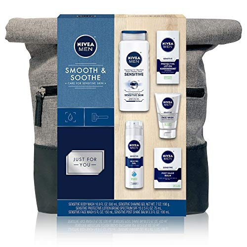 NIVEA Men Dapper Duffel Gift Set - 5 Piece Collection Of On-The-Go Grooming Needs with Travel Bag Included 3