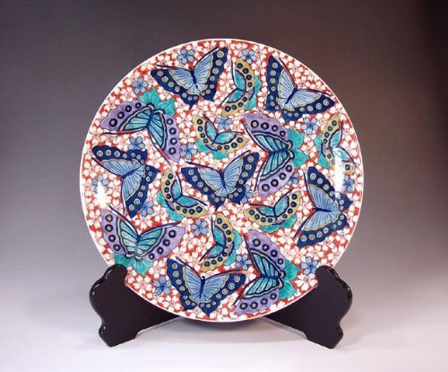 Arita - Imari plates | pottery ornaments Sarah Kazarisara - platter | gifts | Gifts | souvenir | gift | Sakuracho Fujii NishikiAya
