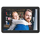 Atatat 8 Inch Digital Photo Frame with IPS Screen, 1920x1080 Digital Picture Frame with Remote Control, Calendar, Slideshow Mode, Support 1080P Video, USB and SD Card Slots, Background Music