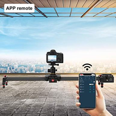 GVM-Video-SliderWireless-Carbon-Fiber-Motor-Camera-Slider-with-Bluetooth-Remote-Mobile-App-Control3180cm-Electronic-Camera-Slider-Auto-Loop-Track-System-Shooting-Equipped