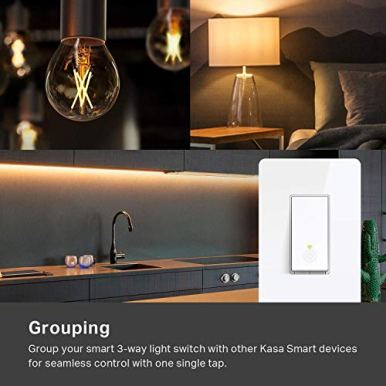 Kasa-Smart-HS210-3-Way-Smart-Switch-by-TP-Link-Wi-Fi-Light-Switch-Works-with-Alexa-and-Google-Home-Neutral-Wire-Required-No-Hub-Required-UL-Certified-1-Pack