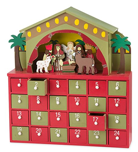 Nativity Advent Drawer