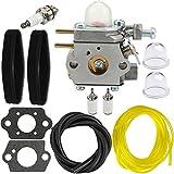 HIPA 753-06190 Carburetor + Tune Up Kit Air Filter for MTD Troy Bilt TB22 TB22EC TB32EC String Trimmer Cub Cadet CC212 CS202 Brushcutter