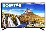 Sceptre X415BV-FSR 40' Slim LED FHD 1080p TV Flat Screen HDMI MHL High Definition and Widescreen Monitor Display ATSC/QAM 3 x HDMI Ports, Metal Black (2019)