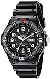 Casio Men's MRW200H-1BV Black Resin Dive Watch