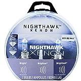 GE Lighting 69865 H11 55NHX/BP2 Nighthawk Xenon Halogen Replacement Bulb, 2-Pack