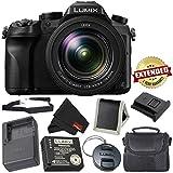 PANASONIC LUMIX DMC-FZ2500 4K Point and Shoot Camera w/20X Leica DC Vario-ELMARIT F2.8-4.5 Lens -