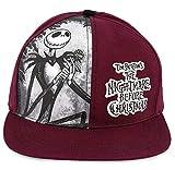 Disney The Nightmare Before Christmas Baseball Cap Jack and Oogie Boogie Adult Maroon