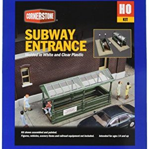 Walthers, Inc. Subway Entrance Kit with Builds 2 Complete Models 51EilWcyRcL