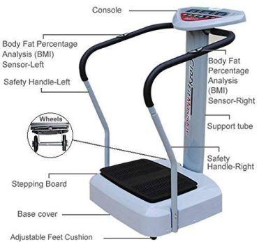 Health-Fitnesshub-SOBO-Xtreme-Powerful-Slim-Full-Body-Vibration-Platform-Exercise-Crazy-Fit-Machine