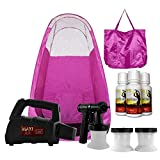Maxi-Mist Lite Plus Sunless Spray Tanning KIT, Tent, Machine HVLP Airbrush Tan, Maximist PINK