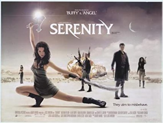 Image result for serenity film 2005 poster