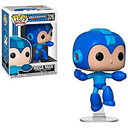 Figura funko pop - megaman - mega man jumping 376