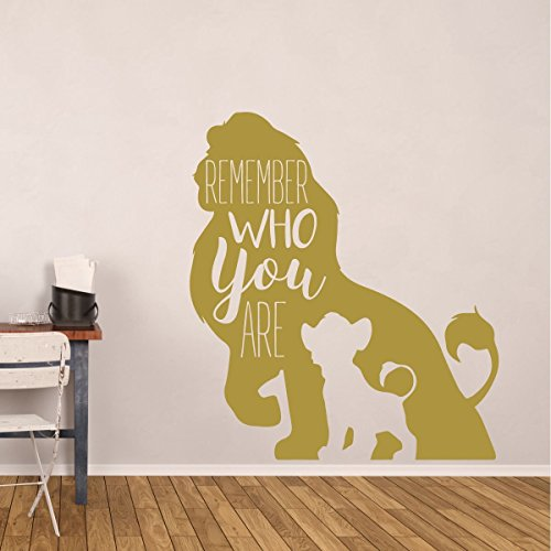Simba Wall Decor – Disney The Lion King Decor- Remember Who You Are ...