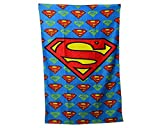 Character Superman Printed 100% Cotton Beach Towel