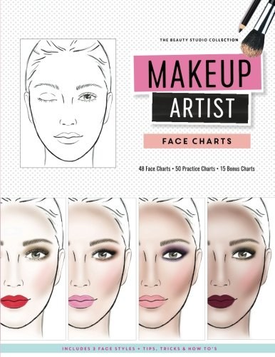 Com Makeup Artist Face Charts
