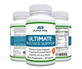 TOP RATED Prostate Supplement - Best Prostate Health Supplement - 600mg Saw Palmetto + Pygeum - Natural Herbs and Vitamin Formula - Supports Mens BPH Urinary Tract Infection - Frequent Peeing Relief