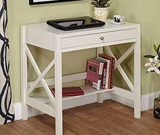 Perfect Trestle Desk White Is A Small Corner Computer Desk Our Writing Desks For Small