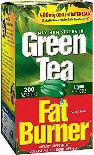 Green Tea Fat Burner, 200 Softgels 1