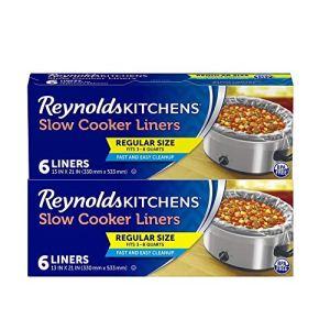 Reynolds Regular Size Slow Cooker Liner, 6 count (Pack of 2) 51F7hu bIhL