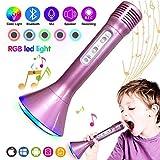 Singa-Z Portable Wireless Karaoke Microphones Speaker Handheld Wireless Bluetooth Home KTV Player for iPhone iPad Android Smart Phones PC Laptops