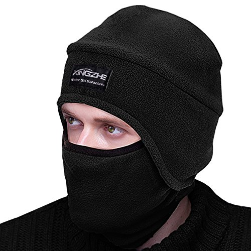 New Tactical Beanie - Balaclava Fleece Hood - Windproof Ski Mask  ZV52