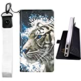 Lovewlb Case for Tracfone Alcatel Tcl A1 A501dl Cover Flip PU Leather + Silicone case Fixed LH