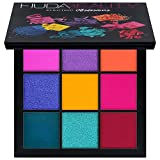 Huda Beauty Obsessions Eye Shadow Palettes! Four Beautiful Palettes To Choose From! Warm Brown! Mauve! Smokey! Electric! Perfect For Any Makeup Lover! (Electric)