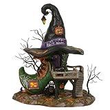 Department56 Snow Village HalloweenEsmeralda's Shoe Shop Lit Building, 10.25', Multicolor