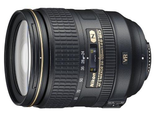 Beach Camera Nikon 24-120mm f/4G ED VR AF-S NIKKOR Lens for Nikon Digital SLR (Renewed)