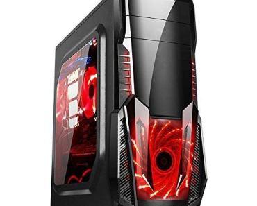 Electrobot Budget Gaming PC – Intel i5-2400 – 8GB RAM – 1TB HDD – 120GB SSD – GT 710 2GB – WiFi,Gaming Cabinet with RGB Strip Light