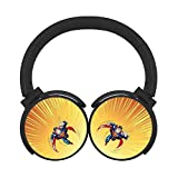 BLTHFun Bluetooth Headset Headphone Wireless Superman 3D Printed Noise-canceling Earphone