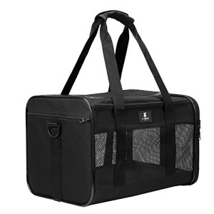 X-ZONE PET Airline Approved Soft-Sided Pet Travel Carrier for Dogs and Cats 11