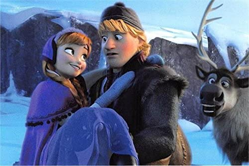 Kristoff Anna Photo 4x6 Frozen Sven Moose Kristen Bell Jonathan Groff Disney Panini 2014 44 Includes Bonus Free Display Top Loader At Amazon S Entertainment Collectibles Store