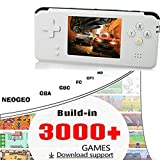 Lywey Portable Handheld Game Console Retro Game Console 16GB 3000 Classic Games Player