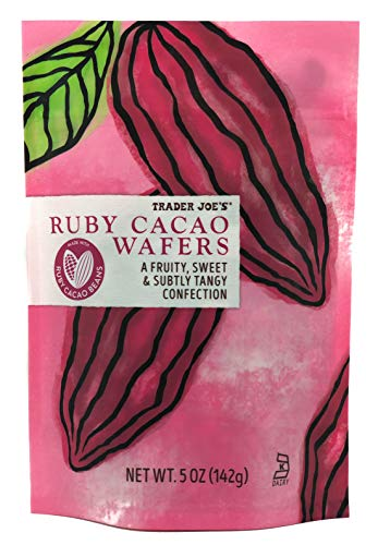 Trader Joe's Ruby Cacao Wafers (2 Pack)