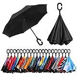 BAGAIL Double Layer Reverse Folding Umbrella