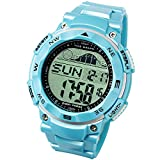 Lad Weather Tide Graph Watch Moon Phase Watches for Fishing Surfing Outdoor