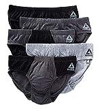 Reebok Low Rise Fashion Briefs - 5 Pack (183PB15) XL/Black/BMag/Grey/Magnet